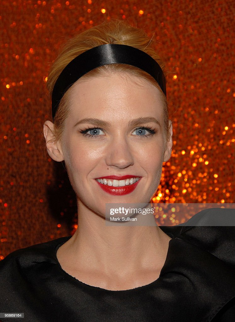 Actress January Jones attends HBO's Post 67th Annual Golden Globes party at Circa 55 Restaurant on January 17, 2010 in Beverly Hills, California.