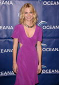 Actress January Jones attends Oceana's 2009 Partners Award gala on November 20 2009 in Los Angeles California