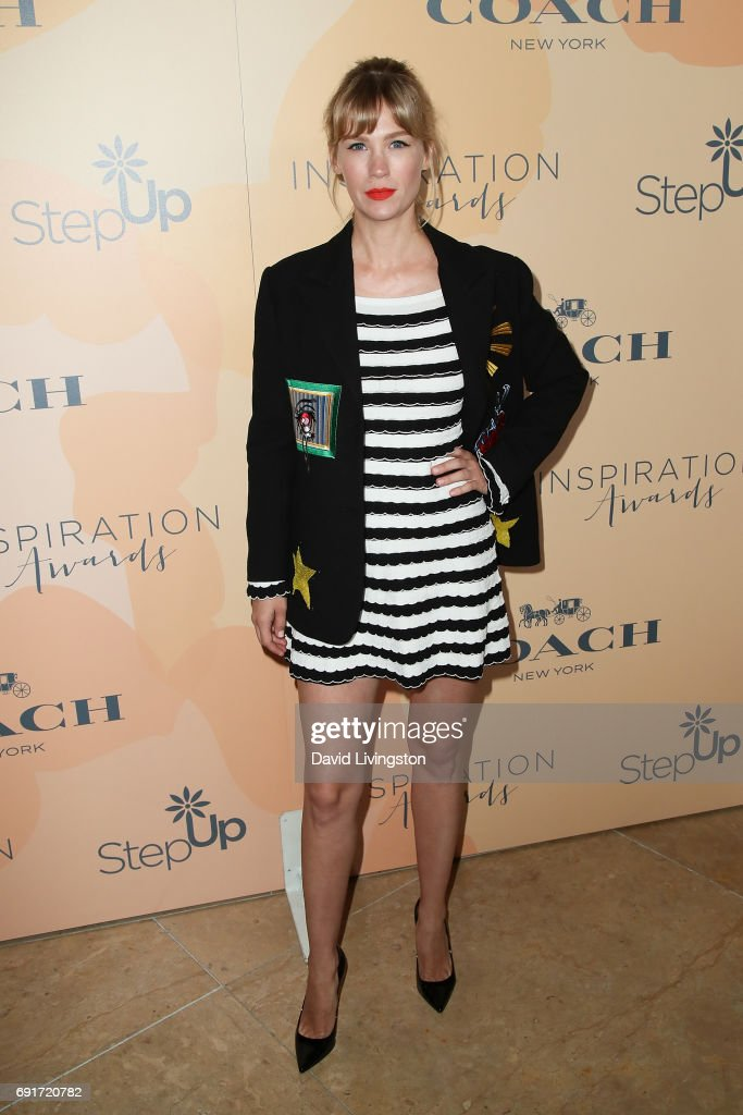 Actress January Jones attends the 14th Annual Inspiration Awards at The Beverly Hilton Hotel on June 2, 2017 in Beverly Hills, California.