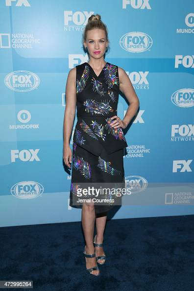 Actress January Jones attends the 2015 FOX programming presentation at Wollman Rink in Central Park on May 11 2015 in New York City