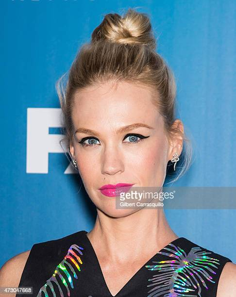 Actress January Jones attends the 2015 FOX Programming Presentation at Wollman Rink Central Park on May 11 2015 in New York City