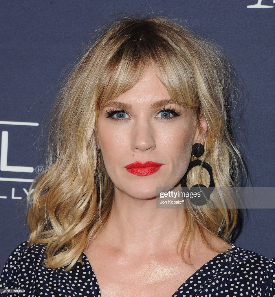 Actress January Jones attends the 2017 Baby2Baby Gala at 3LABS on November 11, 2017 in Culver City, California.