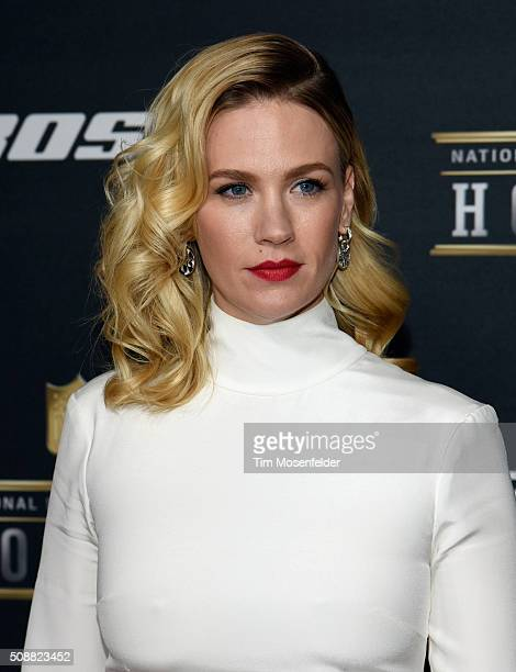 Actress January Jones attends the 5th Annual NFL Honors at Bill Graham Civic Auditorium on February 6 2016 in San Francisco California