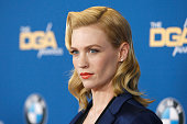 Actress January Jones attends the 67th Annual Directors Guild Of America Awards at the Hyatt Regency Century Plaza on February 7 2015 in Century City...