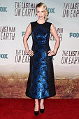 Actress January Jones attends 'The Last Man On Earth' Los Angeles premiere held at Big Daddy's Antique Shop on February 24 2015 in Los Angeles...