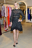 Actress January Jones attends the opening of the ZIMMERMANN Melrose Place Flagship Store hosted by Nicky and Simone Zimmermann on July 29 2015 in Los...