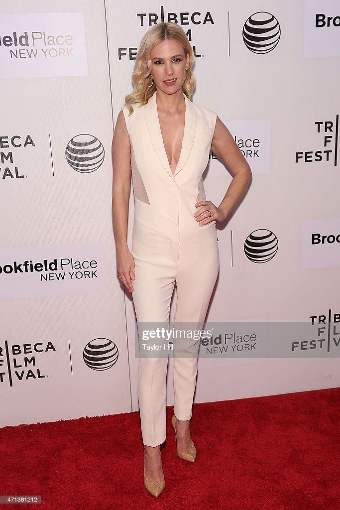Actress January Jones attends the premiere of 'Good Kill' during the 2015 Tribeca Film Festival at BMCC Tribeca PAC on April 19 2015 in New York City