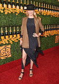 Actress January Jones attends the SixthAnnual Veuve Clicquot Polo Classic at Will Rogers State Historic Park on October 17 2015 in Pacific Palisades...