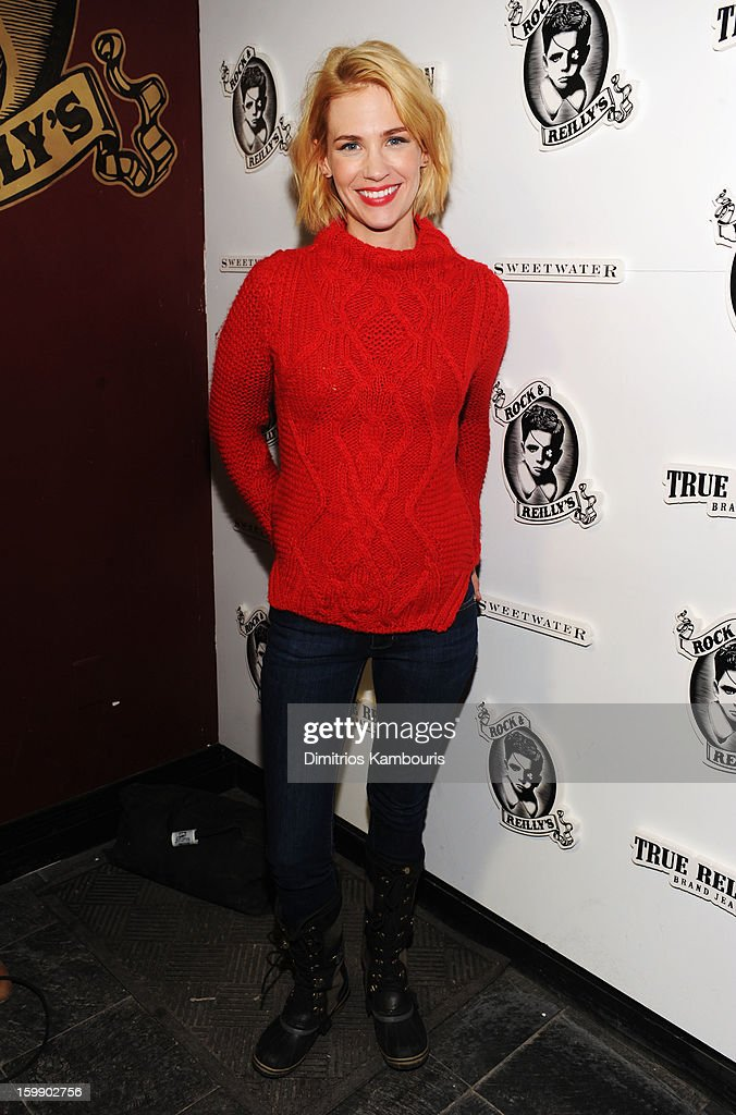 Actress January Jones attends the Sweetwater official cast and filmmakers party sponsored by True Religion on January 22, 2013 in Park City, Utah.