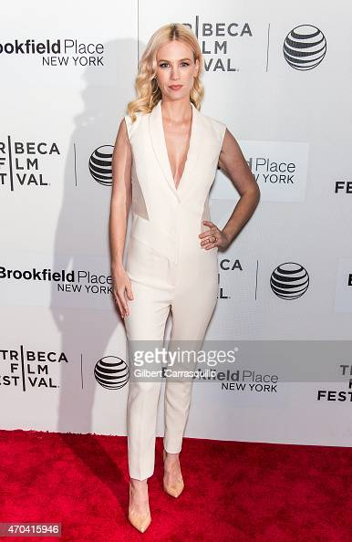 Actress January Jones attends the US Premiere of 'Good Kill' during the 2015 Tribeca Film Festival at BMCC Tribeca PAC on April 19 2015 in New York...