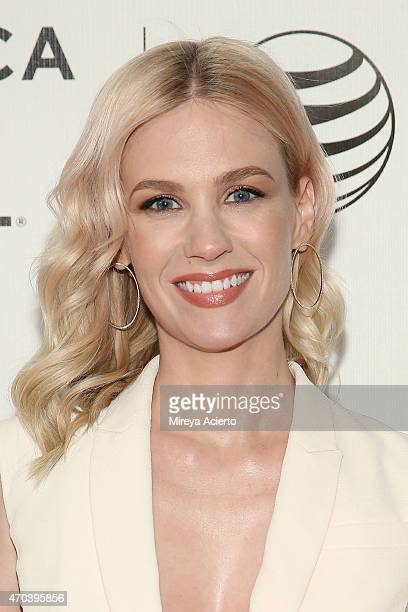 Actress January Jones attends US Premiere Narrative 'Good Kill' during 2015 Tribeca Film Festival at BMCC Tribeca PAC on April 19 2015 in New York...