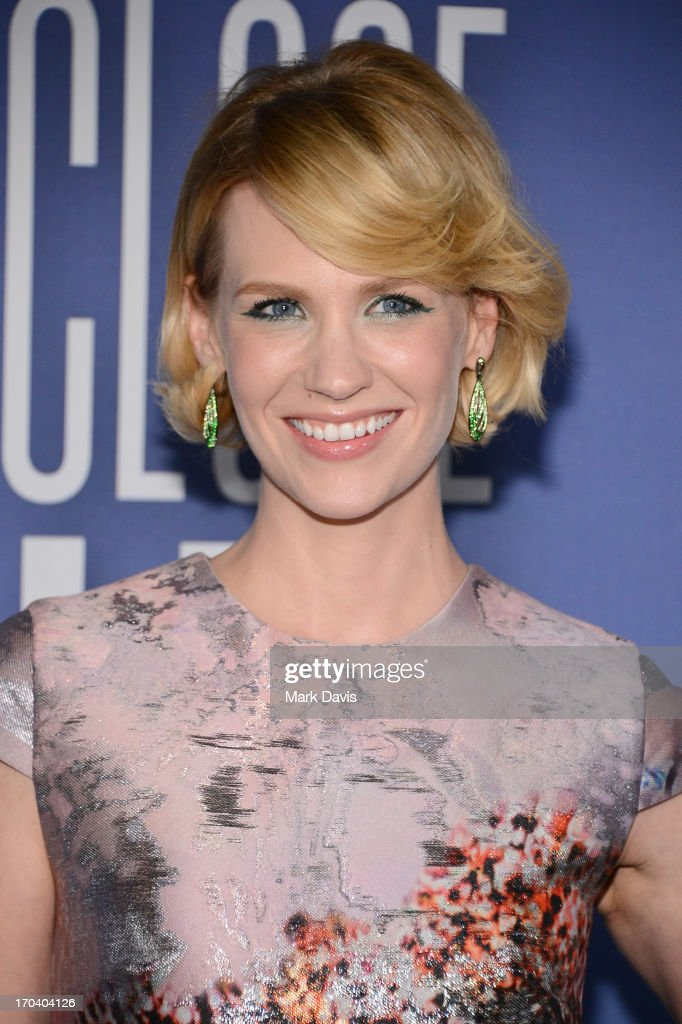 Actress January Jones attends Women In Film's 2013 Crystal + Lucy Awards at The Beverly Hilton Hotel on June 12, 2013 in Beverly Hills, California.