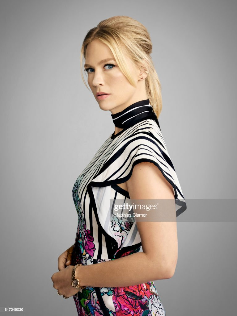Actress January Jones from 'The Last Man on Earth' is photographed for Entertainment Weekly Magazine on July 23, 2016 at Comic Con in the Hard Rock Hotel in San Diego, California.