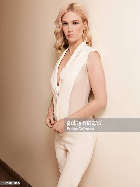 Actress January Jones is photographed for Vanity Faircom on April 15 2015 in New York