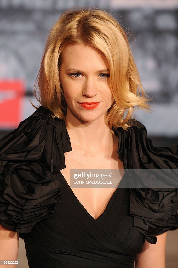 Awesome Us Actress January Jones Poses For Photo Pictures Getty Images Hairstyle Inspiration Daily Dogsangcom