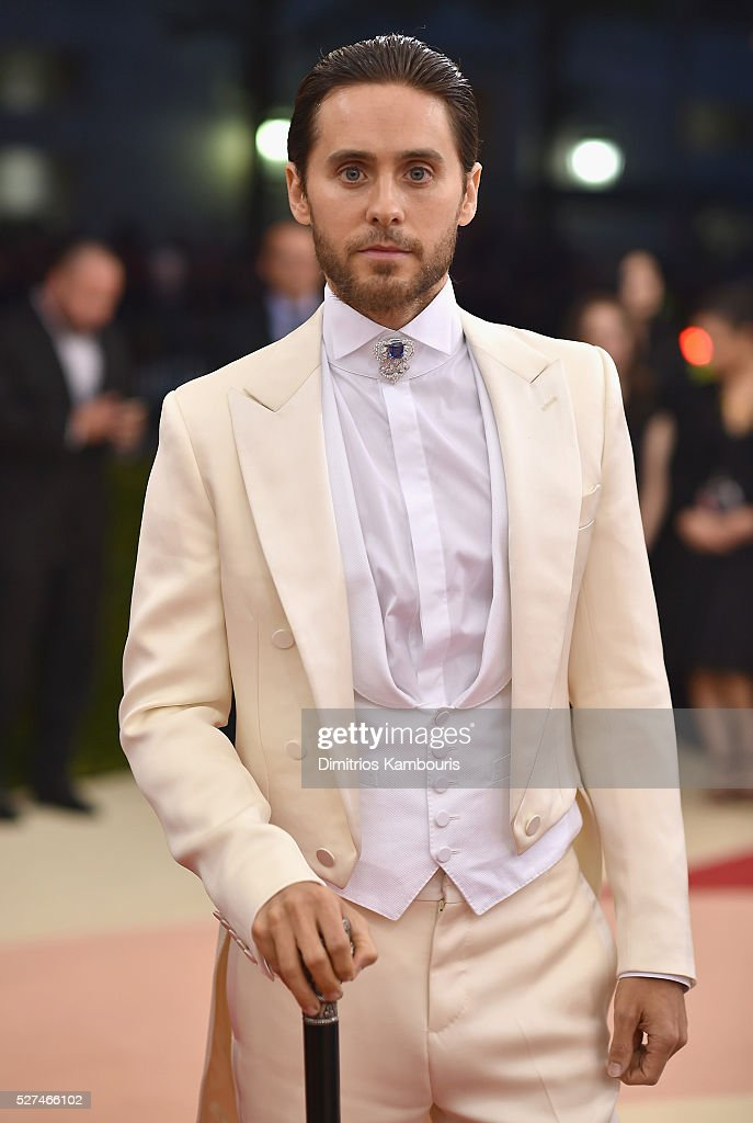 Actress Jared Leto attends the 'Manus x Machina: Fashion In An Age Of Technology' Costume Institute Gala at Metropolitan Museum of Art on May 2, 2016 in New York City.