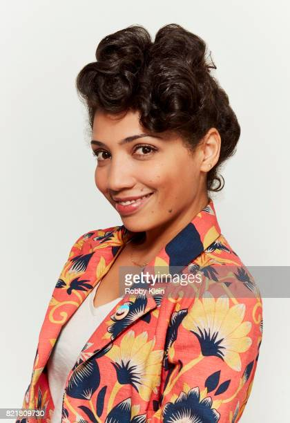 Actress Jasika Nicole from Amazon's 'Danger Eggs' poses for a portrait during ComicCon 2017 at Hard Rock Hotel San Diego on July 22 2017 in San Diego...