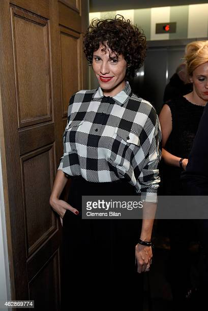 Actress Jasmin Gerat attends Studio Babelsberg Soho House Berlinale Party with GREY GOOSE at the 'QUEEN OF THE DESERT' Studio Babelsberg Berlinale...