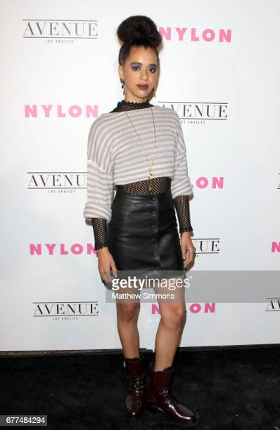 Actress Jasmin Savoy Brown attends NYLON's Annual Young Hollywood May Issue Event at Avenue on May 2 2017 in Los Angeles California