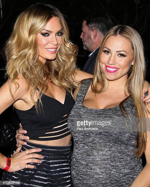 Actress Jasmine Dustin and Radio Personality Jessica Hall attend the 'Babes In Toyland' charity toy drive at Boulevard3 on April 22 2015 in Hollywood...