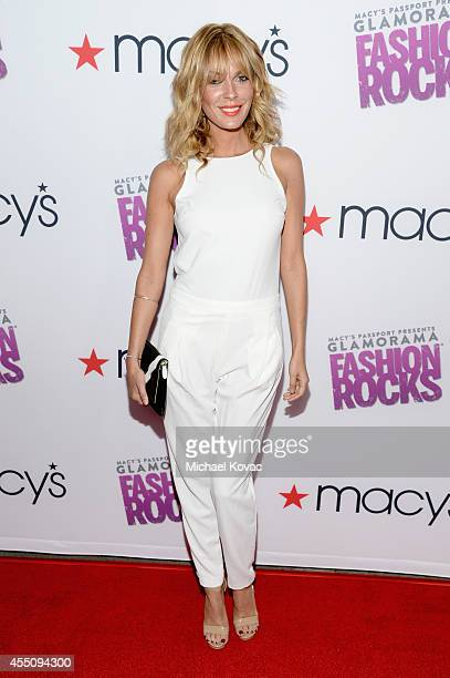 Actress Jasmine Dustin attends Glamorama 'Fashion Rocks' presented by Macy's Passport at Create Nightclub on September 9 2014 in Los Angeles...