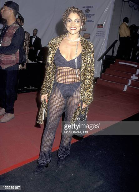 Actress Jasmine Guy attends the 25th Annual Soul Train Hall of Fame Induction Ceremony on November 2 1995 at Shrine Auditorium in Los Angeles...