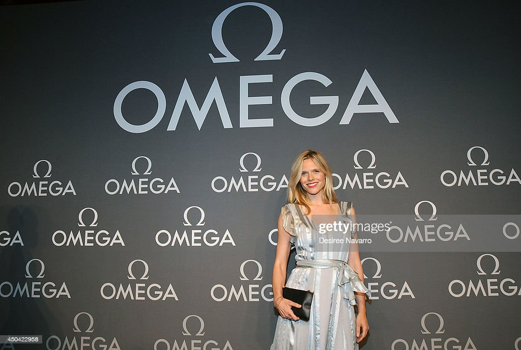 Actress Jasmine Lobe attends the OMEGA Speedmaster Dark Side of the Moon launch at Cedar Lake on June 10, 2014 in New York City.
