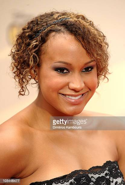 Actress Jasmine Richards attends the premiere of 'Camp Rock 2 The Final Jam' at Alice Tully Hall Lincoln Center on August 18 2010 in New York City