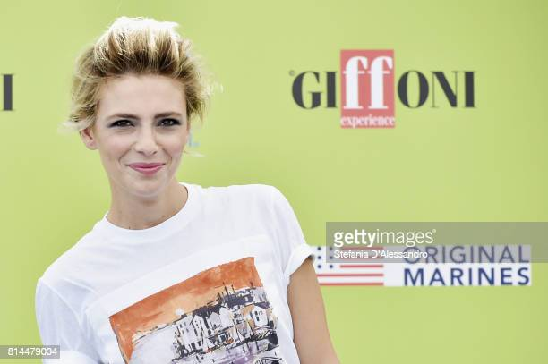 Actress Jasmine Trinca attends Giffoni Film Festival 2017 Day 1 photocall on July 14 2017 in Giffoni Valle Piana Italy