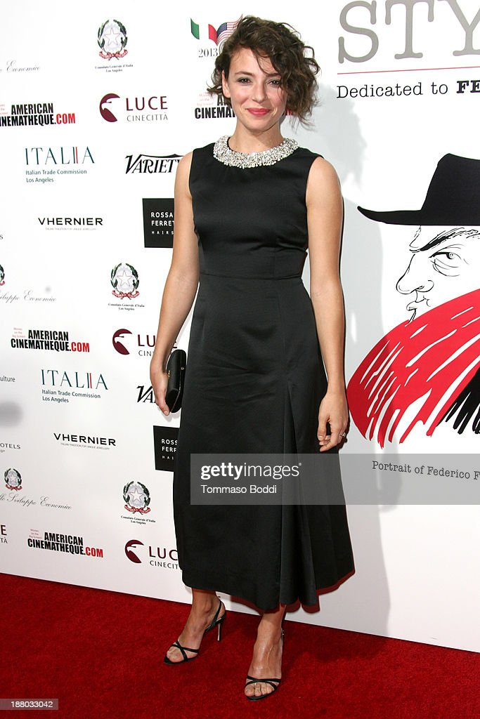 Actress Jasmine Trinca attends the Luce Cinecitta' and the American Cinematheque in collaboration with AFI FEST present Cinema Italian Style opening night held at the Egyptian Theatre on November 14, 2013 in Hollywood, California.