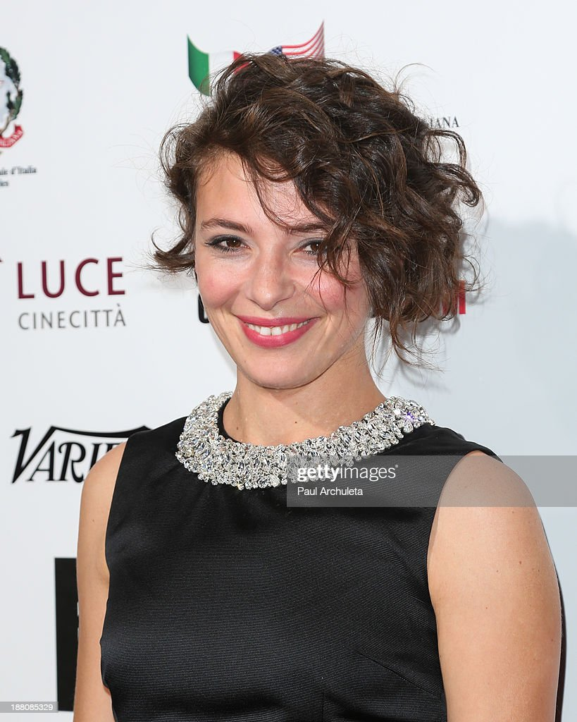 Actress Jasmine Trinca attends the premiere of 'The Great Beauty' at the Cinema Italian Style 2013 Opening Night at the Egyptian Theatre on November 14, 2013 in Hollywood, California.