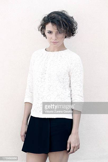 Actress Jasmine Trinca poses for a portrait during the 66th Locarno Film Festival on August 11 2013 in Locarno Switzerland