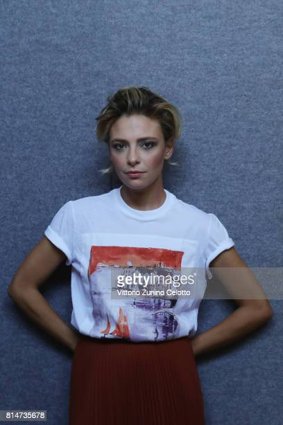 Actress Jasmine Trinca poses for a portrait session during Giffoni Film Festival on July 14 2017 in Giffoni Valle Piana Italy