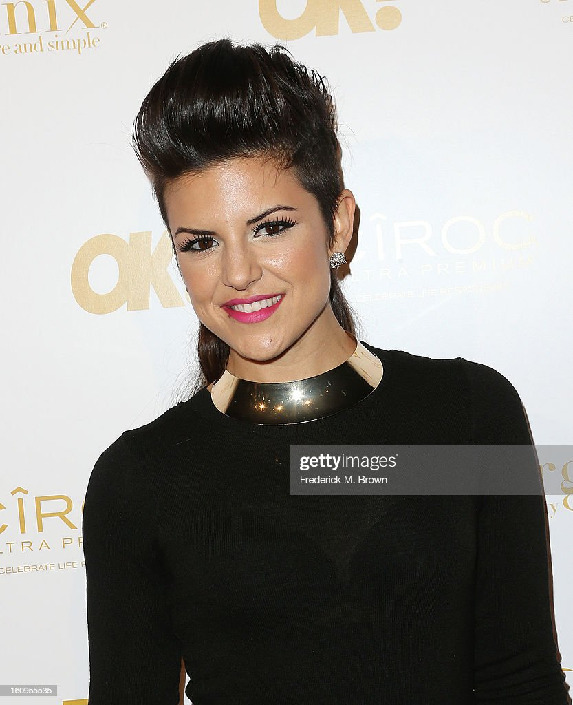 Actress Jax Taylor attends the OK! Magazine Pre-GRAMMY Party at the Sound Nightclub on February 7, 2013 in Hollywood, California.