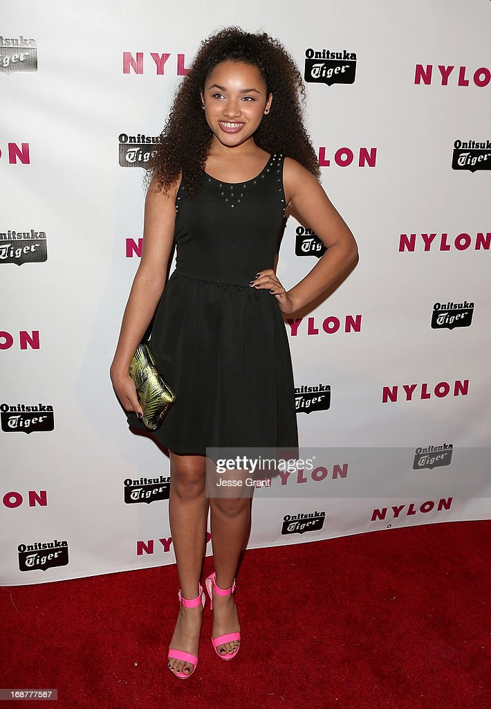 Actress Jaylen Barron attends the NYLON Magazine Annual May Young Hollywood Issue Party at The Roosevelt Hotel on May 14, 2013 in Hollywood, California.