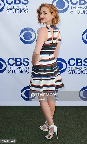 Actress Jayma Mays arrives at the CBS Summer Soiree at The London West Hollywood on May 19 2014 in West Hollywood California
