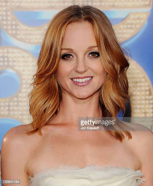 Actress Jayma Mays arrives at the Los Angeles Premiere 'GLEE The 3D Concert Movie' at Regency Village Theatre on August 6 2011 in Westwood California