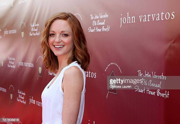 Actress Jayma Mays attends John Varvatos 8th Annual Stuart House Benefit featuring KD Lang at John Varvatos Los Angeles on March 13 2011 in Los...