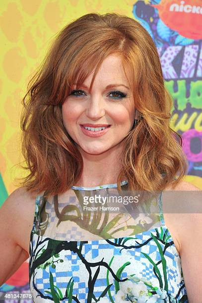 Actress Jayma Mays attends Nickelodeon's 27th Annual Kids' Choice Awards held at USC Galen Center on March 29 2014 in Los Angeles California
