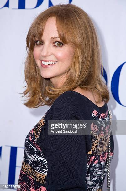 Actress Jayma Mays attends the CBS television studios hosts 1st annual National TV Dinner Night for new comedies 'The Millers' and 'We Are Men' at...
