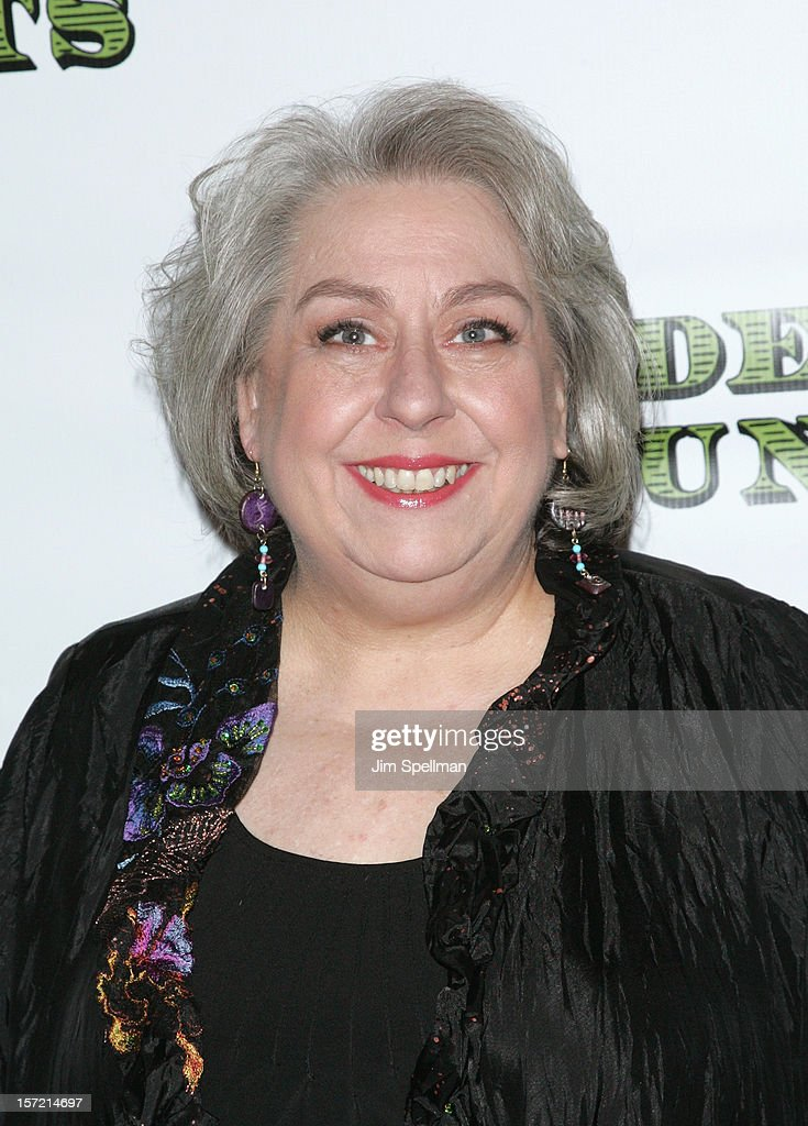 Actress <a gi-track='captionPersonalityLinkClicked' href=/galleries/search?phrase=Jayne+Houdyshell&family=editorial&specificpeople=572503 ng-click='$event.stopPropagation()'>Jayne Houdyshell</a> attends 'Dead Accounts' Broadway Opening Night After Party at Gotham Hall on November 29, 2012 in New York City.