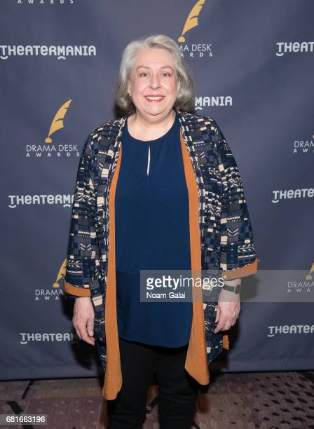 Actress Jayne Houdyshell attends the 2017 Drama Desk Nominees Reception at Marriott Marquis Times Square on May 10 2017 in New York City