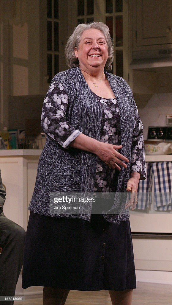 Actress Jayne Houdyshell performs 'Dead Accounts' Broadway Opening Night at Music Box Theatre on November 29, 2012 in New York City.