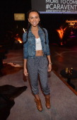 """Actress Jazzlyn Marae celebrates the Abercrombie Fitch """"The Making of a Star"""" Spring Campaign Party in Hollywood CA on February 22 2014"""