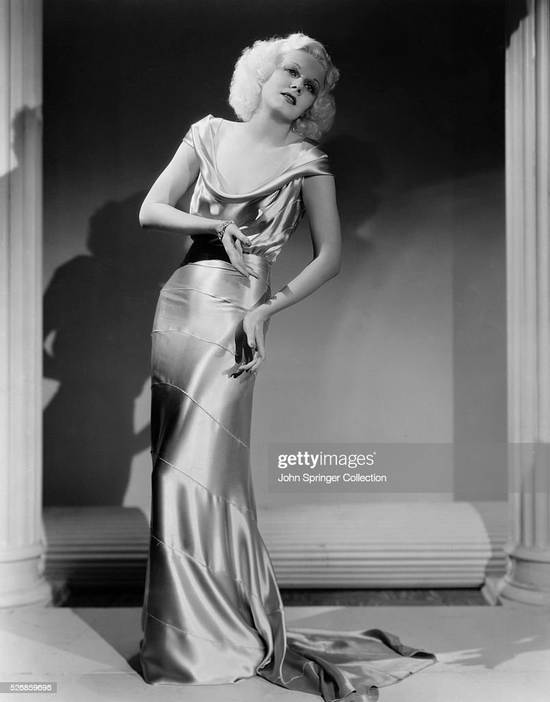 Actress Jean Harlow in the Film Reckless