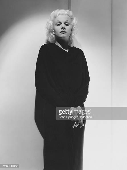 Actress Jean Harlow