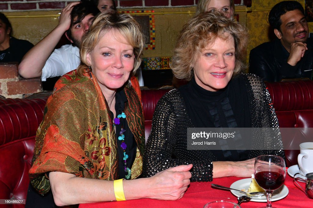 Actress <a gi-track='captionPersonalityLinkClicked' href=/galleries/search?phrase=Jean+Smart&family=editorial&specificpeople=220923 ng-click='$event.stopPropagation()'>Jean Smart</a> and actress Deborah May attend 'Kumpania: Flamenco Los Angeles' - Los Angeles Premiere after party at El Cid on January 31, 2013 in Los Angeles, California.