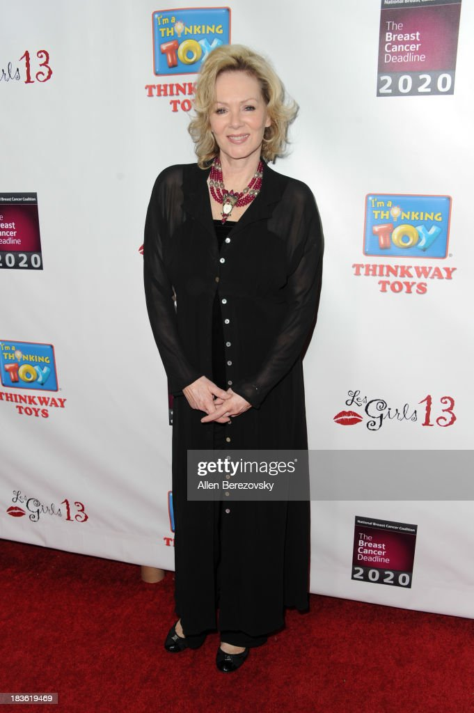 Actress <a gi-track='captionPersonalityLinkClicked' href=/galleries/search?phrase=Jean+Smart&family=editorial&specificpeople=220923 ng-click='$event.stopPropagation()'>Jean Smart</a> attends the 13th annual Les Girls benefiting the National Breast Cancer Coalition Fund at Avalon on October 7, 2013 in Hollywood, California.