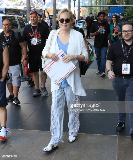 Actress Jean Smart is seen on July 21 2017 at Comic Con in San Diego CA