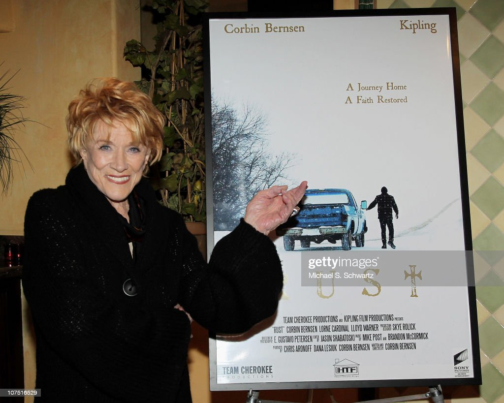 Actress <a gi-track='captionPersonalityLinkClicked' href=/galleries/search?phrase=Jeanne+Cooper&family=editorial&specificpeople=208646 ng-click='$event.stopPropagation()'>Jeanne Cooper</a> poses at the screening of 'Rust' at Raleigh Studios on December 9, 2010 in Los Angeles, California.
